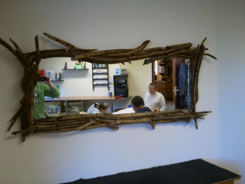 Activit arcaux de bois himont for Achat miroir bois flotte